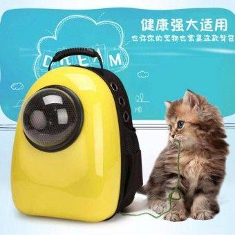 จ ดเต มเด ยวน Hayashi แคปซ ลใส ส ตว เล ยง แมว ส น ข Capsule Bag For Cats Anddogs กำล งมองหา Pet Backpack Dog Backpack Pet Carriers