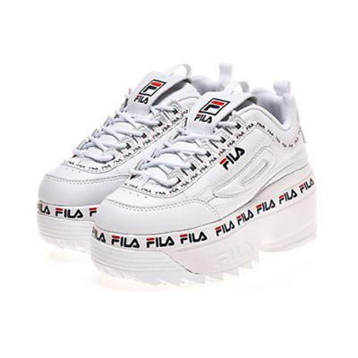 Advertisement)eBay FILA Women Disruptor II 2 Wedge Tapey