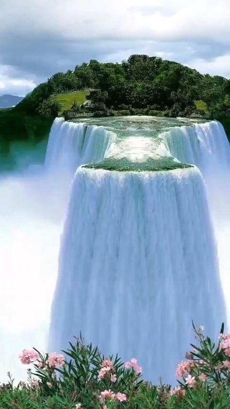 traveldailypicz on Instagram: Beautiful Waterfall 🍃 . . . #nature #travel #luxury #reels video #reels instagram reelitfeelit ##waterfall #trending #reels #viral #foryou…