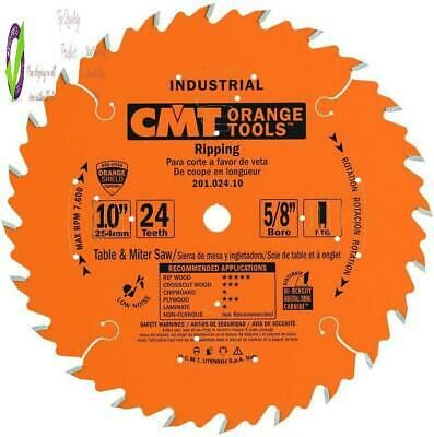 Ad Ebay Url Cmt 201 024 10 Industrial Ripping Saw Blade 10 Inch X 24 Teeth Ftg Grind With Table Saw Blades Saw Blades 10 Things