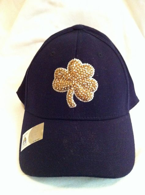 Swarovski Notre Dame Hat - make this a 49ers hat and we got a deal