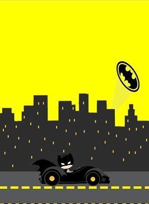 Batman Print Archives Baby Batman Batman Invitations