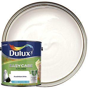 Dulux Easycare Kitchen Pure Brilliant White Matt Emulsion Paint 2 5l In 2020 Dulux Chic Shadow Dulux Paint