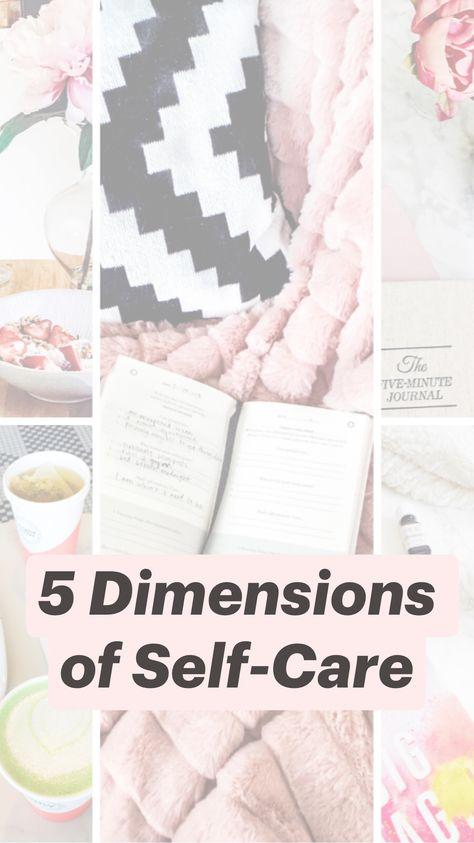 5 Dimensions of Self-Care