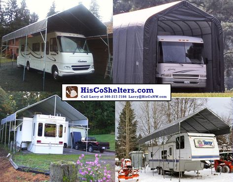 Shelter Logic Portable RV Garage Kit Build Your Own Carport FREE Shipping Next 10 Days Check Hiscosheltersc