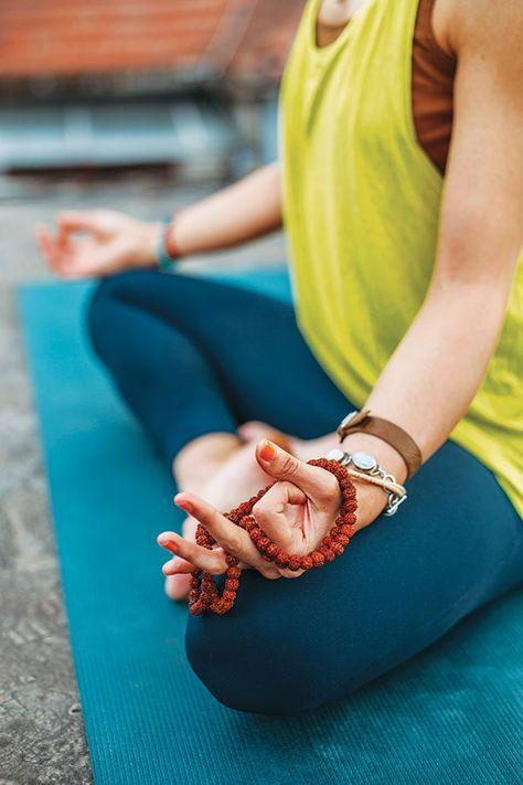 sit in stillness