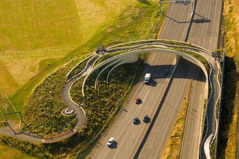 Vancouver land bridge.