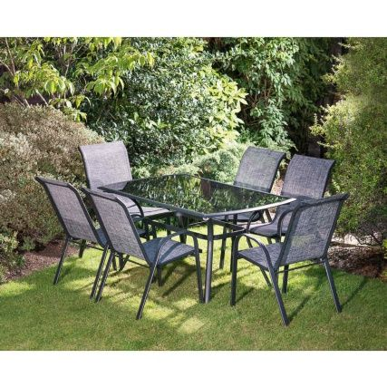 318753 Seville 7pc 3 Outdoor Patio Set Patio Decor Garden