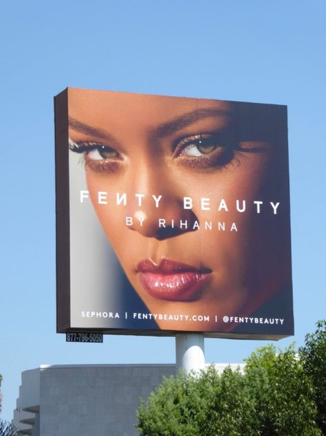 Beauty, fragrance and fashion billboards filling L.A.'s September 2017 skies...