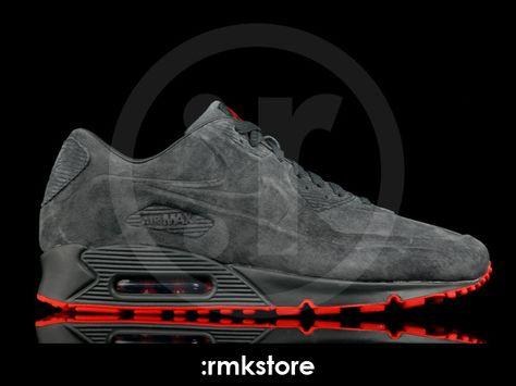 newest b2aa0 3a164 Nike Air Max 90 VT Vac Tech Premium Black Orange