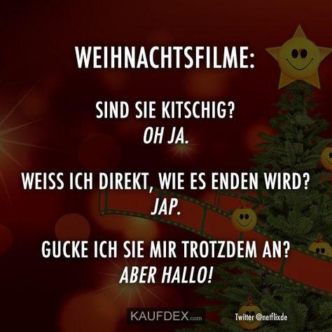 Weihnachtsfilme: Sind sie kitschig? Oh Ja. Weiss ich direkt, wie es enden wird? Jap. Gucke ich sie mir trotzdem an? Aber Hallo!