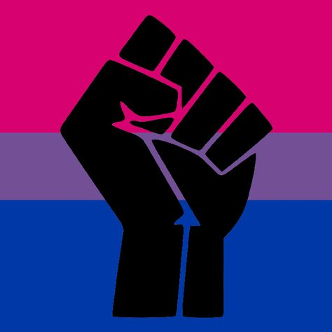 Black Lives Matter and Happy Pride Month... Took a long time to make : bisexual