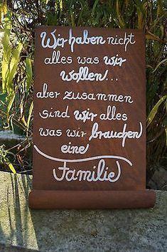 Edelrost Tafel We do not have everything ... Wandschmuck Gedichttafel Schild Metall  #edelrost #everything #gedichttafel #metall #schild #tafel #wandschmuck
