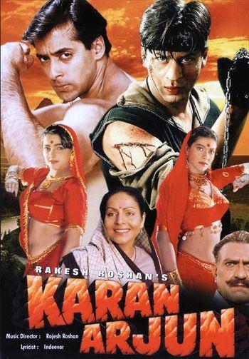Karan Arjun 1995 Hindi In Hd Einthusan Hindi Movies Online Free Bollywood Posters Movie Dialogues