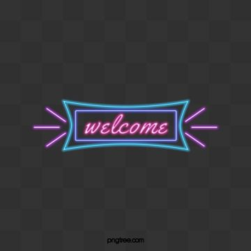 Welcome To Blue Purple Neon Welcome Clipart Welcome The Neon Lights Png Transparent Clipart Image And Psd File For Free Download Neon Png Neon Neon Aesthetic