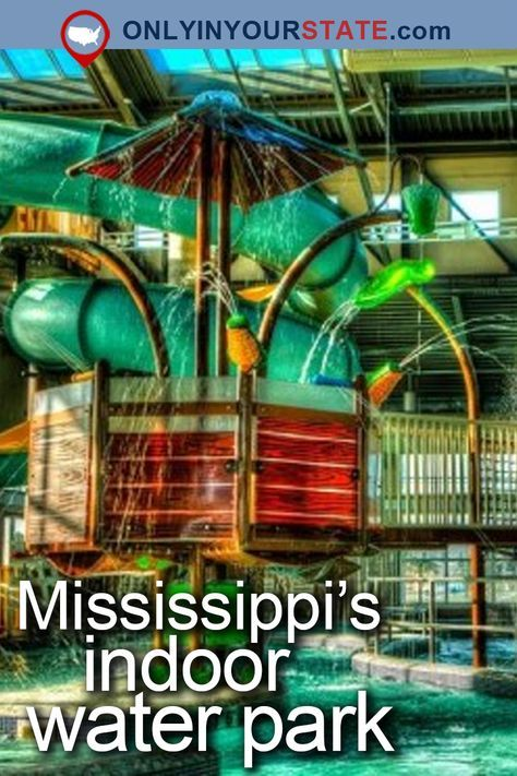 Most People Don T Know That Mississippi S Kroc Center Has An Indoor Water Park Indoor Waterpark Water Parks In Mississippi Mississippi Vacation