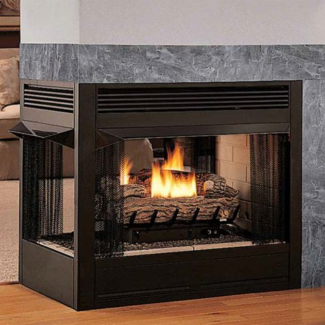 Superior 36 Inch Vent Free Multi Sided Gas Firebox Vrt Vct43