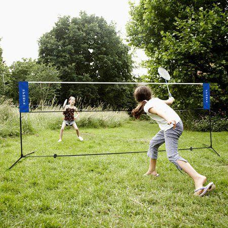 Costway Portable 13 8 X5 Badminton Beach Volleyball Tennis Training Net W Carrying Bag Walmart Com