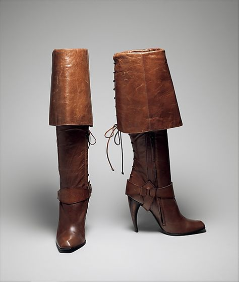 Boots by Alexander McQueen, Spring/Summer 2003, Collection of the Metropolitan Museum of Art