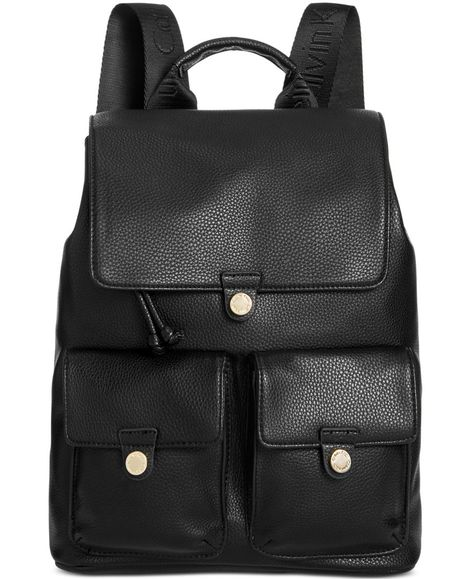 8d54fed5a0 Calvin Klein Snap Pocket Small Backpack