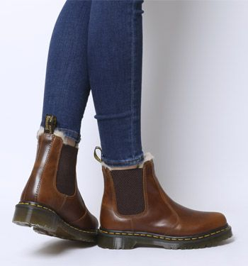 Dr. Martens, Leonore Boots, Butterscotch Orleans in 2020