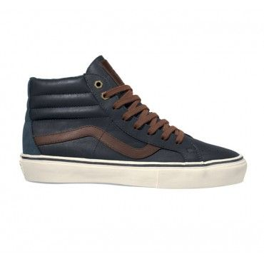 b9f3ad2448603d Vans California Sk8 Mid - Waxed Leather