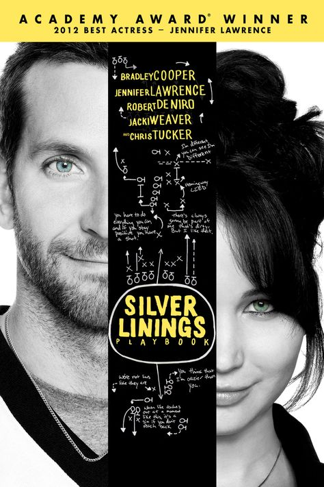 Silver Linings Playbook - May have already pinned this, but such a great movie! Must read the book!