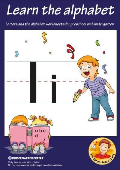 Letters Alphabet Worksheets For Preschool And Kindergarten Letter I Kindergarten Expert Fr Kindergarten Abc Letters For Kids Alphabet Activities Preschool Preschool alphabet activities pdf