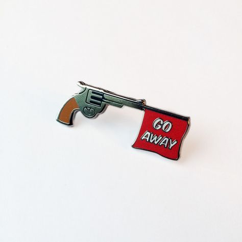 1.5 hard enamel pin with rubber backing
