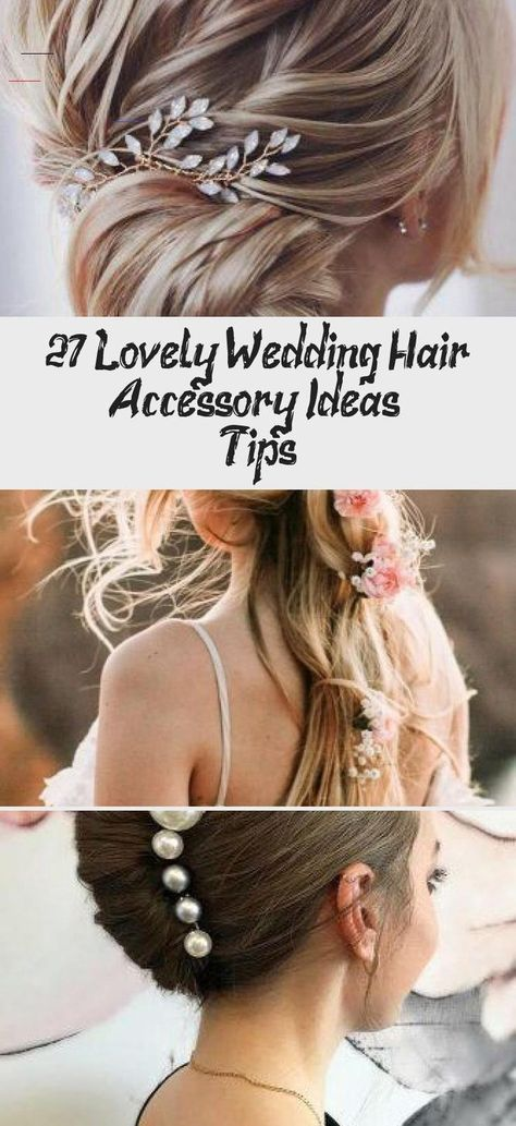 27 Lovely Wedding Hair Accessory Ideas & Tips - HairStyles 27 Lovely Wedding Hair Accessory Ideas & Tips ❤️ Want to add something beautiful to your wedding look? See our collection of wedding flower crowns & hair accessories which was made to inspire you! #weddings #hairstyles #hairaccessoriesinspiration #CocMireasaweddinghair #Summerweddinghair #weddinghairBrown #weddinghairComb #weddinghairShort<br> 27 Lovely Wedding Hair Accessory Ideas & Tips ❤️ Want to add something beautiful to your weddin