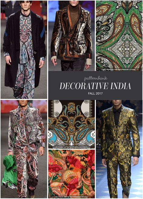 The Patternbank Team bring you Part 1 of the key Print Trends from the Fall2017 Menswear Catwalk shows, alongside our curatedprint designs fromThe Patte