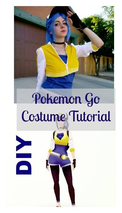 diy pokemon go costume free patterns pinterest pokmon costumes and cosplay