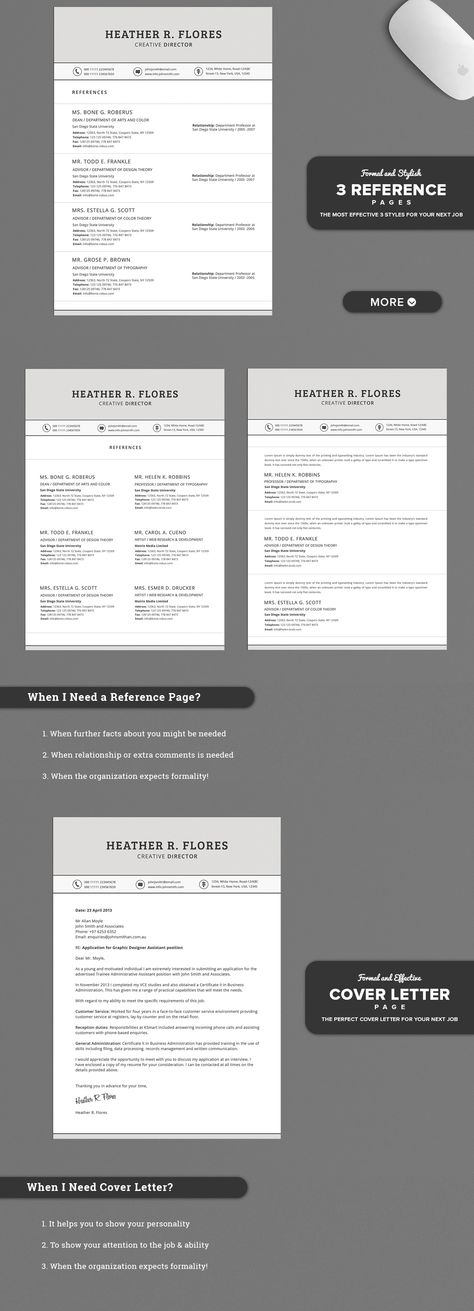 21 Page Black \ White Classic Resume Professional Resume Designs - classic resume design