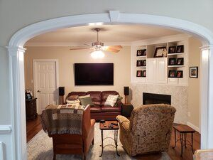 Before After Archway Trim Curvemakers Arch Kits In 2020 Archways In Homes Archway Custom Homes