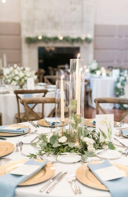 New Wedding Centerpieces Greenery Round 64 Ideas Round Wedding