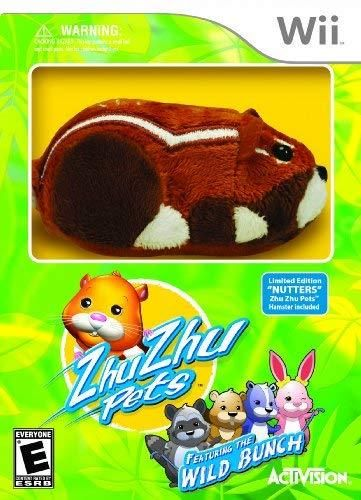 Super Cute Zhu Zhu Pets Go Go Pets Hamster Baby With Tiny Toy New