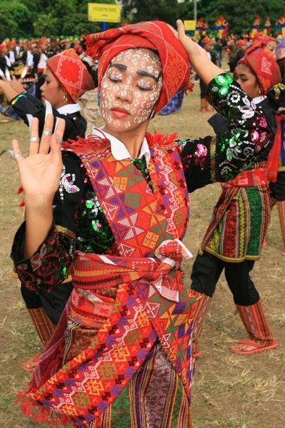 Cultural outfit in Southern philippines