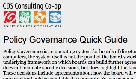 Four Pillars Of Cooperative Governance  Cds Consulting