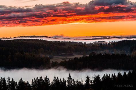 Beautiful morning in Aulanko, Hämeenlinna