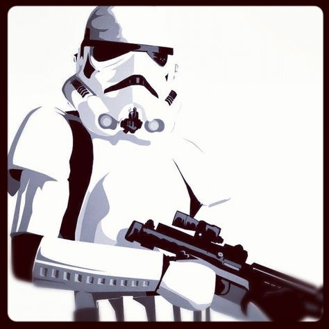 illu 2d  star wars  stormtrooper