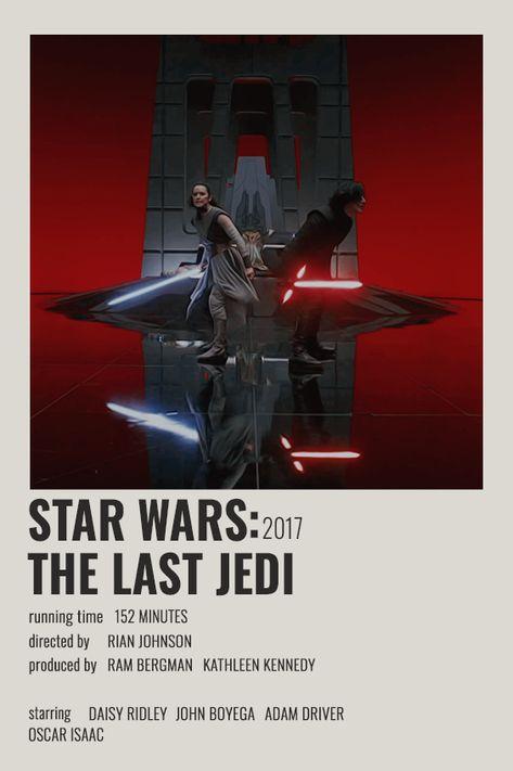 STAR WARS: THE LAST JEDI POLAROID POSTER