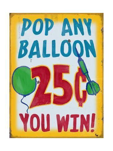 Metal Tip Balloon Game Darts Festival Birthday Party 50 Carnival Pop