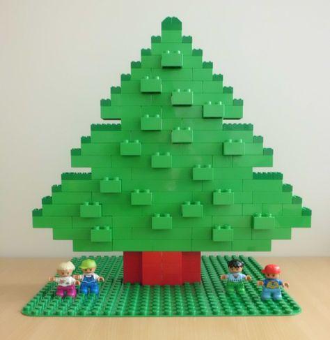 Calendrier Avent Duplo.Le Christmas Tree Duplo Lego Noel Deco Noel Enfant Et