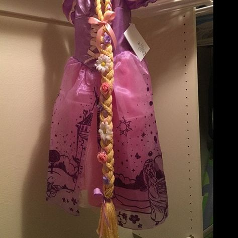 Floor Length Rapunzel Braid Rapunzel costume braid Tangled | Etsy