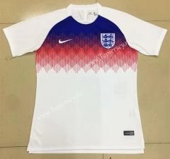 2018 World Cup England Home White Thailand Training Shirt Soccer Training Training Shirts Soccer