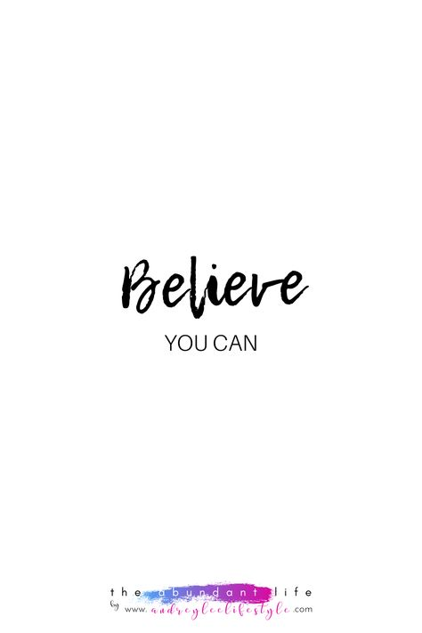Quote_Believe You Can