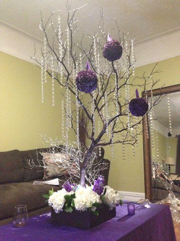 Manzanita Crystal Tree RENTALS in NY & NJ   Juicy Themed Party