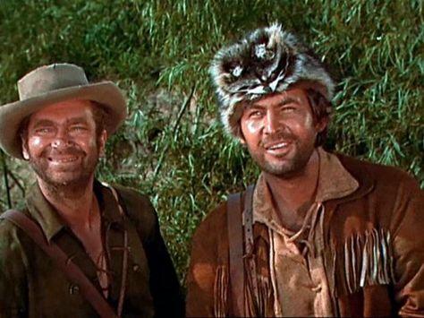 Davey Crockett and Georgie Russell. I grew up watchin' this stuff ...
