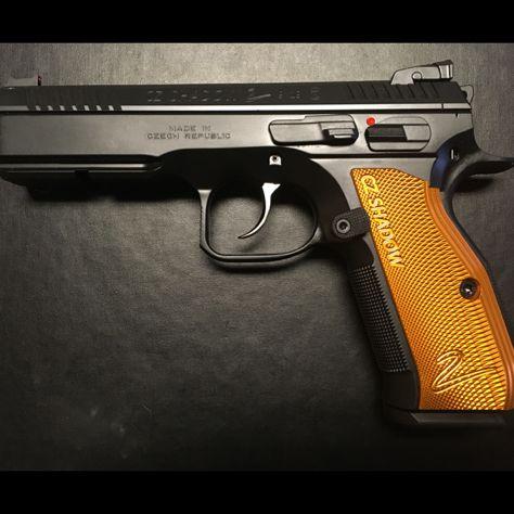 Cz shadow 2 with orange grips!!! In believable find!!   Guns