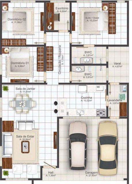 Planos De Viviendas Gratis Con Medidas Cocinaspequenasrusticas Planos De Casas Planos De Casas Modernas Casa De 3 Dormitorios